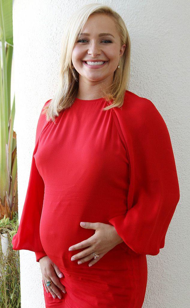 Pregnant Hayden Panett... Hayden Panettiere Baby