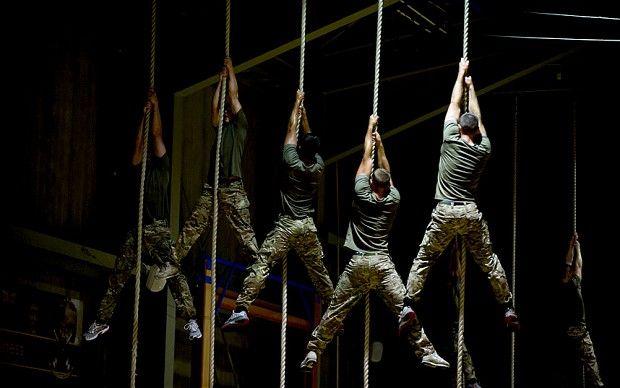 Royal Marines Training Camp - Telegraph