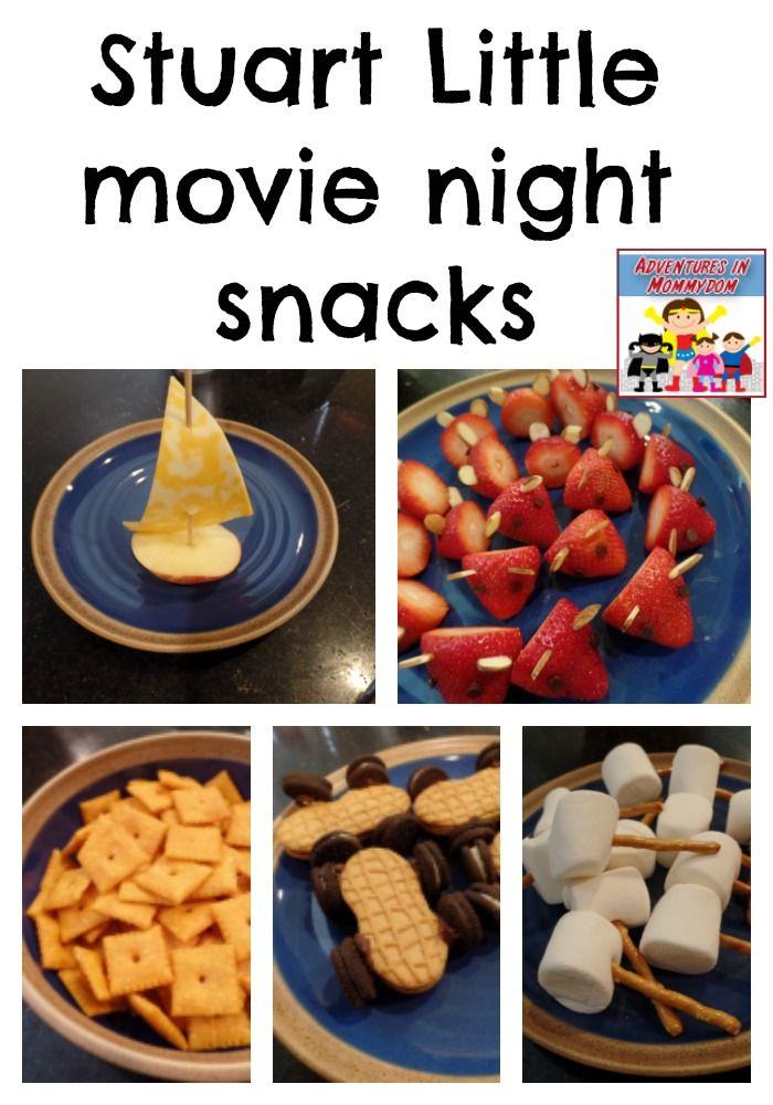 Stuart Little movie night snacks