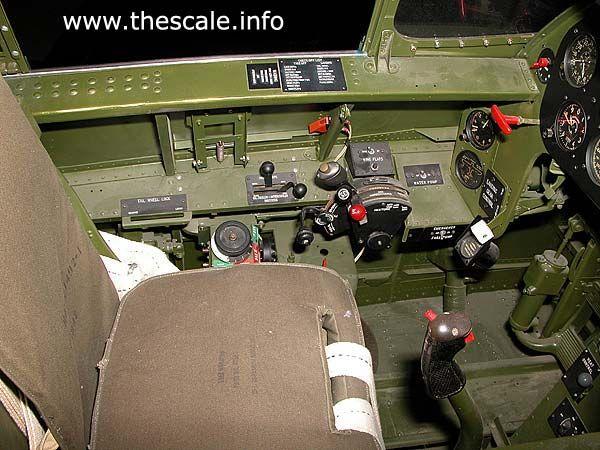f6f hellcat cockpit   Grumman F6F Hellcat. Cockpit & tail section photos