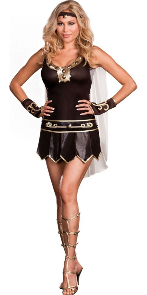 adult babe a lonian plus size warrior queen costume halloween city - Cat Outfit For Halloween