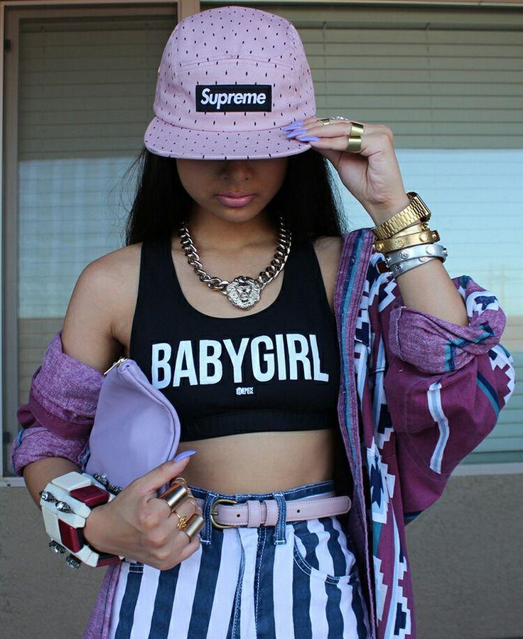 Black Dope Fashion Girl: Swag, Supreme And Black