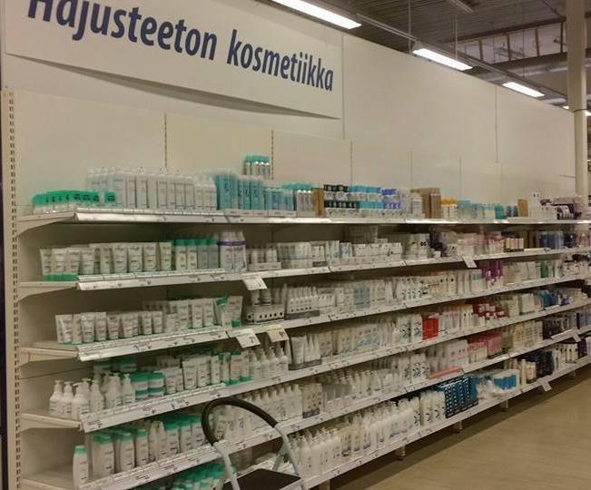 Hajusteettomat tuotteet pitää luokitella omaksi osastokseen, niin MCS:ssää sairastavakin voi valita ostoksensa sairastumatta.