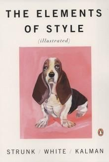 An illustrated cover of The Elements of Style, still a useful guide for writers today.