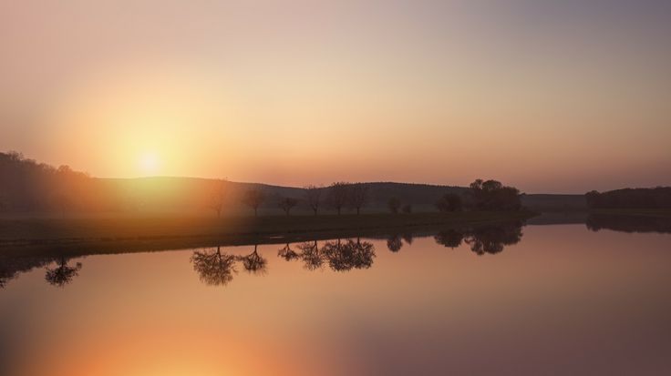 Sunset river by Dan Venter on 500px