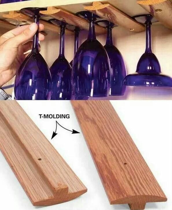 Amazing idea!!!!! And you can paint the wood in any color :))