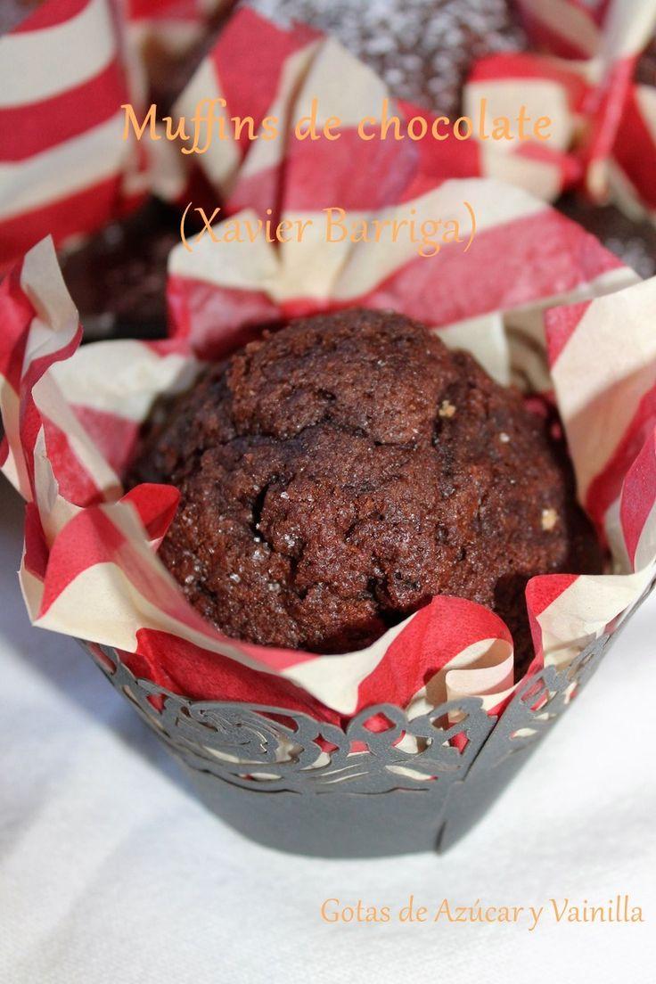 Muffins de chocolate (Xavier Barriga)