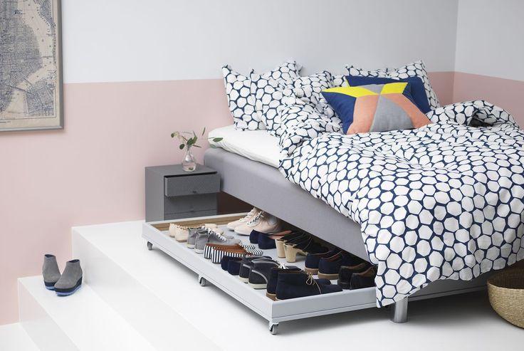 DIY Inspiration for storage under the Bed