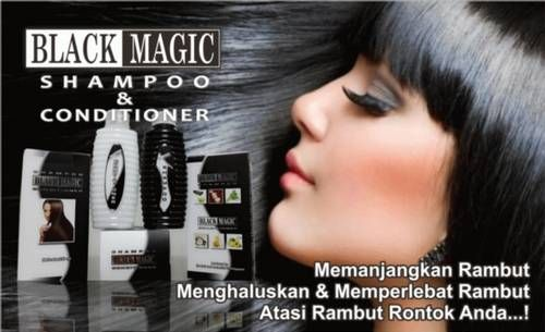 Black Magic Kemiri Shampoo adalah shampoo penumbuh rambut, pemanjang rambut, dan menutrisi rambut dalam pertumbuhan dan penghalus rambut. Berbahan kemiri dan lidah buaya, baunya sangat harum dan telah terbukti ampuh dalam mempercepat pemanjangan rambut secara alami, menumbuhkan rambut, dan mengatasi kerontokan. Produk ini berasal dari Singapura.