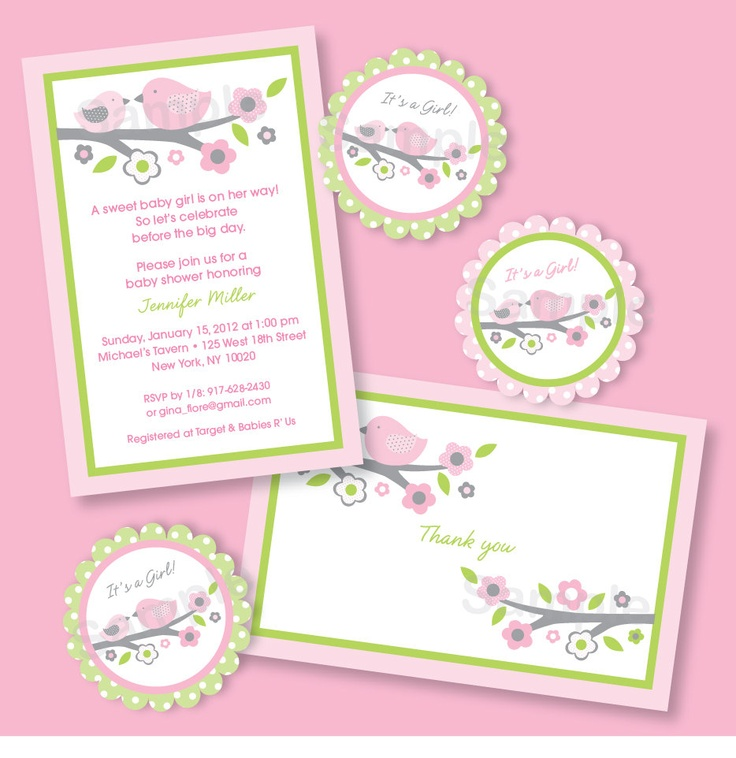 8 best Mothers day invitations images on Pinterest Invitations - fresh invitation card for first birthday of baby girl