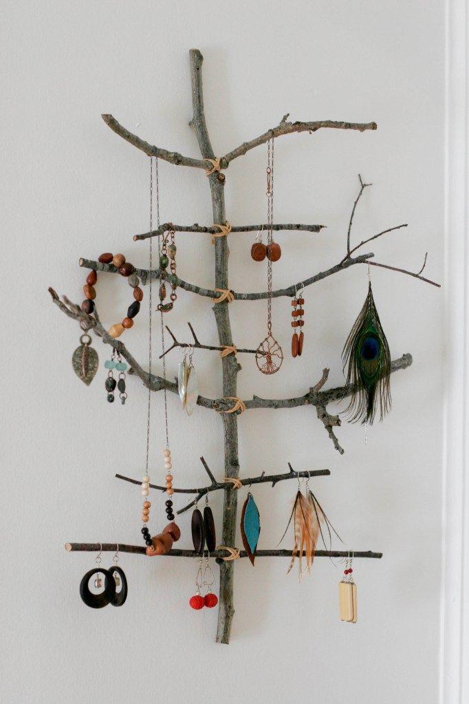Happiness Crafty: DIY Jewellery Holders