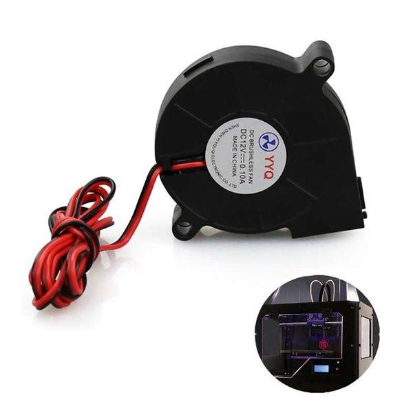 12v Dc 50mm Turbo Blower Small Cooling Fan For Reprap 3d Printer