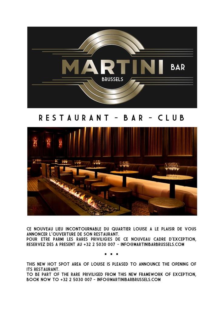 Martini Bar Brussels