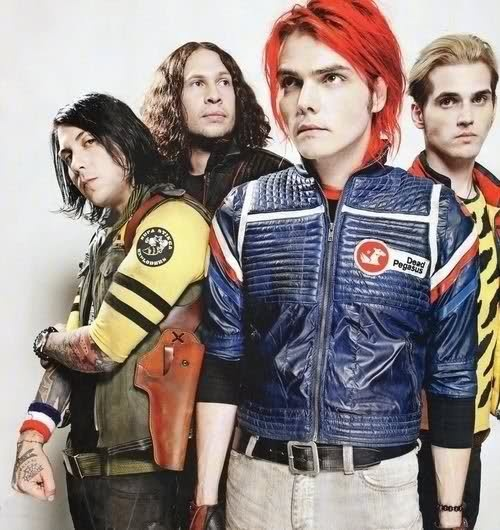 My Chemical Romance DANGER DAYS COLLAGE Poster
