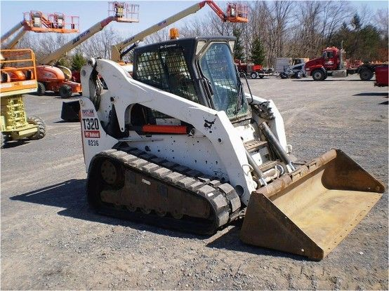 Our featured Skid Steer is a 2008 Bobcat T320, A71 Package, Standard Bobcat Controls, Track Drive, 1,400 Hrs. Check out our great selection of Bobcat Skid Steers! You can view them all at: http://www.rockanddirt.com/equipment-for-sale/BOBCAT/skid-steer-loaders-crawler
