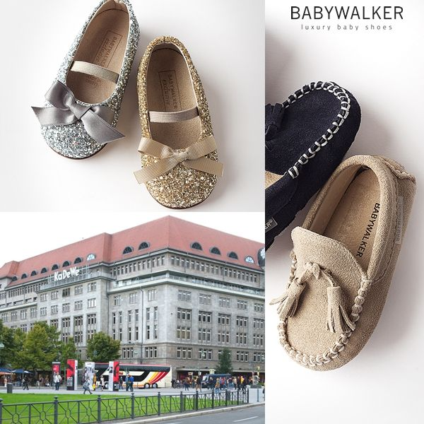 Babywalker luxury shoes in KADEWE!