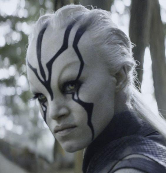 Sofia Boutella as 'Jaylah' in 'Star Trek: Beyond' (2016):