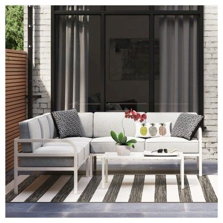 Metal Patio Sectional   Room Essentials