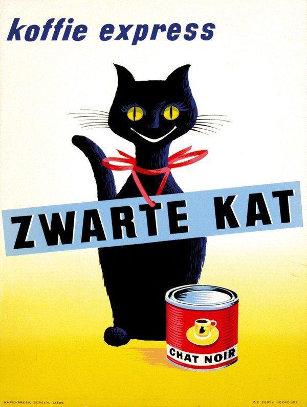 Zwarte Kat koffie express (1959)