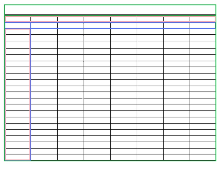 17 Best images about Printable Charts Templates Forms on – Charts Templates