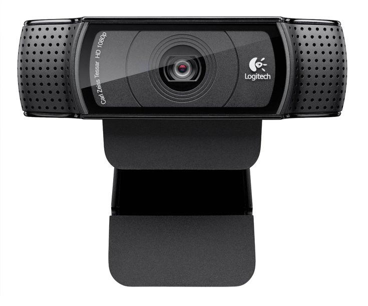 Logitech HD Pro Webcam C920 (1080p)