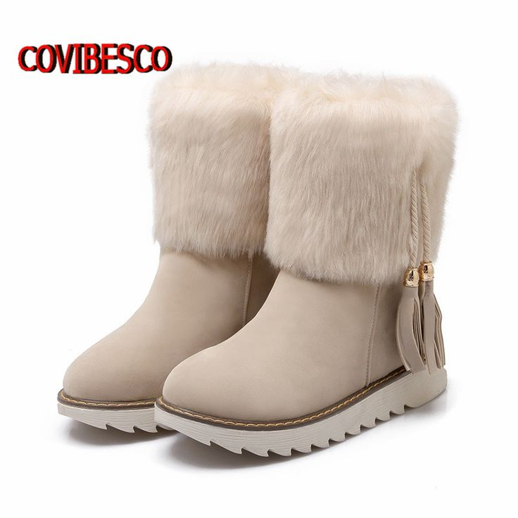 Купить товарМода Теплый Мех Снегоступы Для Женщин Сексуальные Плоские Ботинки Лодыжки Платформы Дамы Женские Кисточки осень Зимняя Обувь повседневная обувь в категории Ботильонына AliExpress.    наш стандартный размер продукта  США 3 = 34 ЕВРО = 220 мм (босые ноги длина)  США 4 = 35 ЕВРО = 225 мм (босые ноги дл