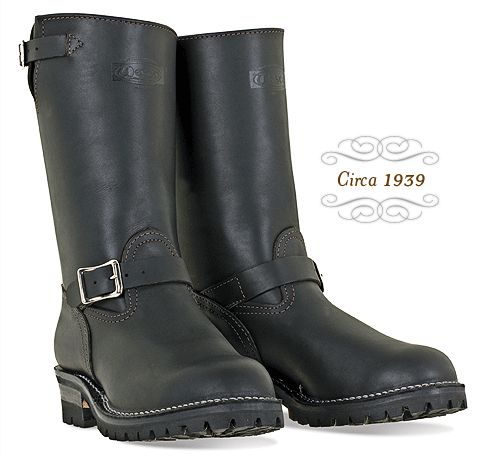 "Wesco Engineer ""Boss"" boots. The best motorcycle boot you can buy. Of course, you may need to mortgage the house to afford a pair, but they will last for years."
