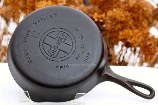 Top Vintage Cast Iron Pans: Griswold, Wagner & Lodge — Maxwell's Daily Find 02.03.15
