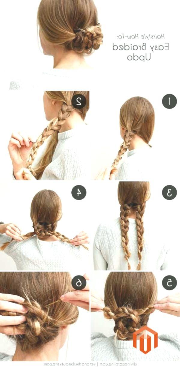 Coiffures Faciles Pour Le Travail Des Cheveux Longs Ou Moyens Cheveux Coiffures Braided Hairstyles Tutorials Easy Braided Hairstyles Easy Easy Hairstyles