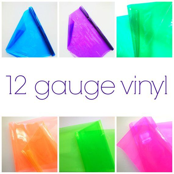 Colorful Transparent Vinyl For Sewing Yardage 12 Gauge Vinyl Vinyl Fabric Easy Sewing