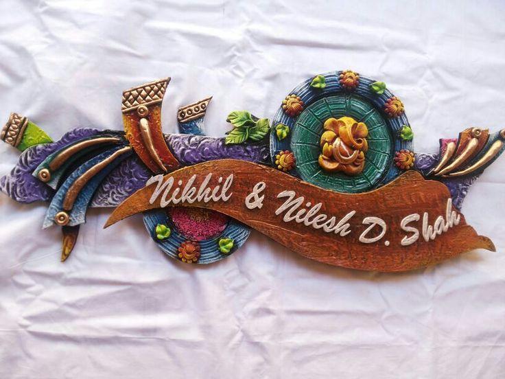 25 best name plates ideas on pinterest string art names for Mural name plate