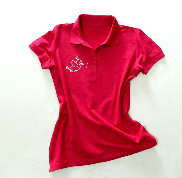 Sweet golf shirt in 100% cotton. For girls and women. With 3D birdie and crystal golf ball.   http://www.birdiecountry.com/category/closing-accessorize/woman-man/birdie-polo-t-shirt/