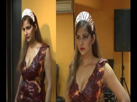 Tanisha Singh's photo shoot for SAVE AND SAFE ANIMAL campaign.