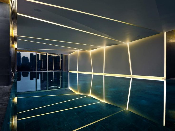 indoor lighting design. these 50 jawdropping indoor hotel pools have a serious edge on their outdoor counterparts pictured here is the lighting design