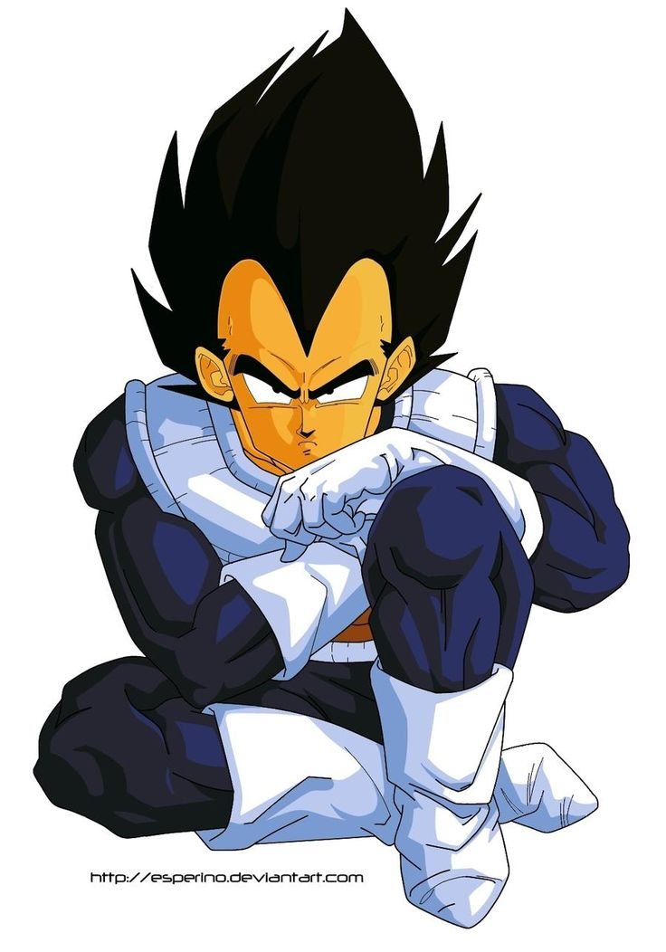 Dragon Ball Z Vegeta Paint 1 by Esperino on DeviantArt