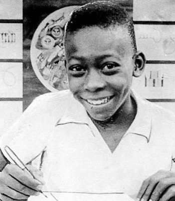 Pelé joined Santos aged 15, after developing at Bauru Athletic Club.