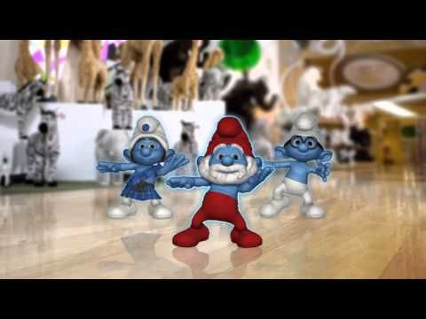 A number of smurf songs (brain breaks) Grade 2 students loving this
