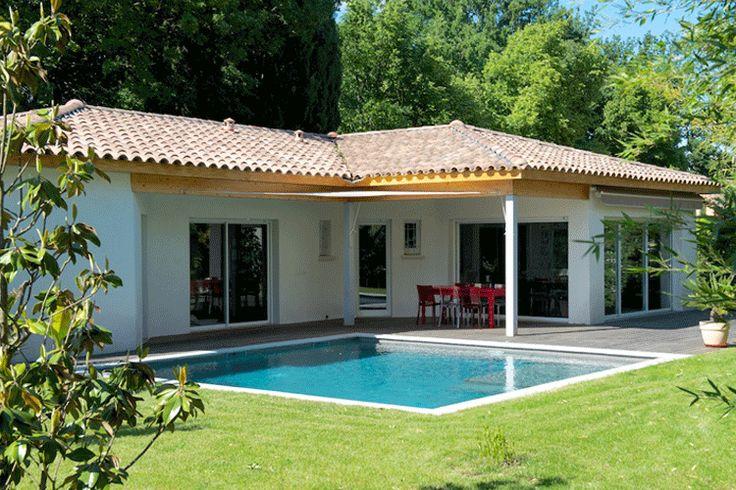 Les 55 meilleures images du tableau mas provence villas for Constructeur maison individuelle paca