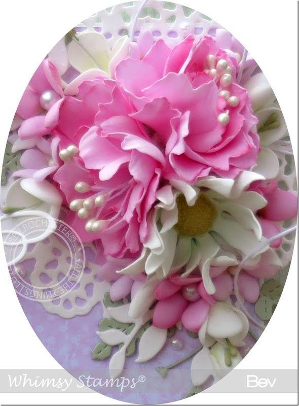 Foamiran Flower Video Tutorial | All the things I love | Bloglovin'