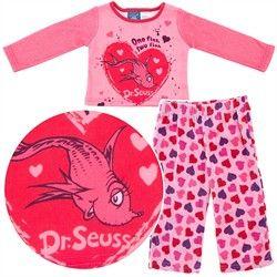 One Fish Two Fish Fleece Pajamas for Baby Girls,    #Girl'sPajamasonSale,    #82634