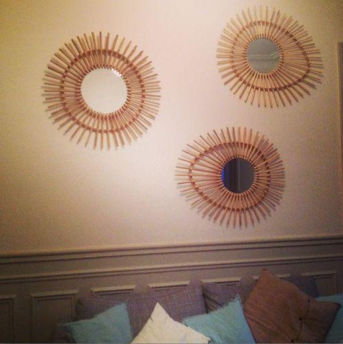 1000 ideas about miroir en rotin on pinterest rattan for Decoller un miroir du mur