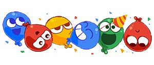 Happy New Year from Google! | Google Doodle 01/01/2017