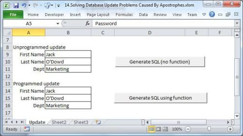 How to Escape Quoted Strings for SQL Statement used in Database via Excel VBA https://www.datanumen.com/blogs/escape-quoted-strings-sql-statement-used-database-via-excel-vba/