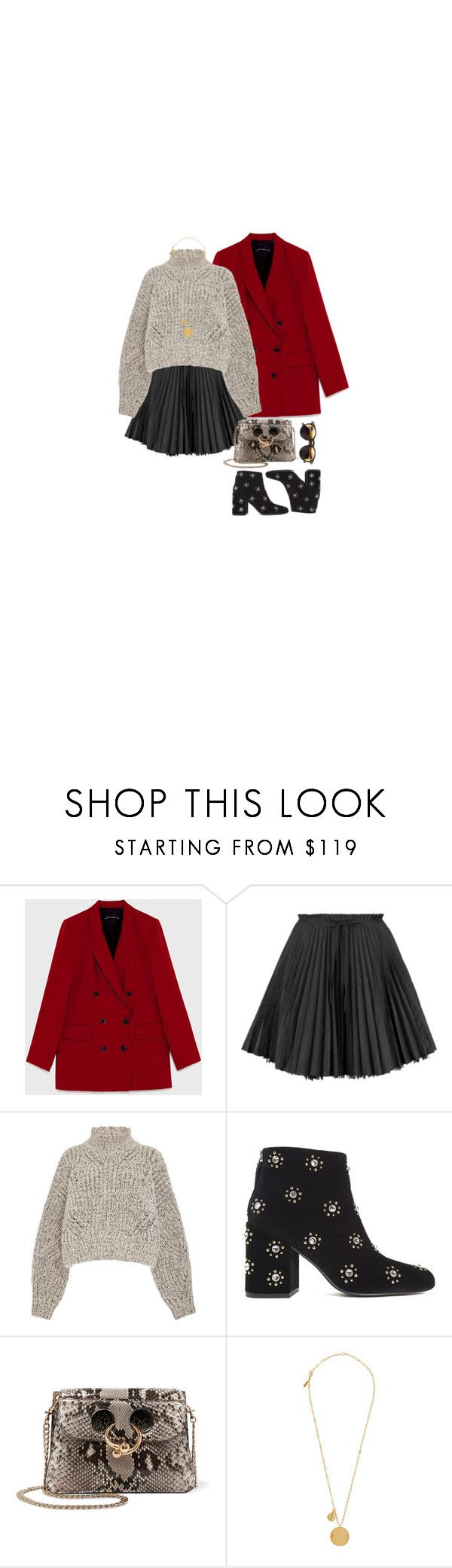 """""""simple#23"""" by frutini ❤ liked on Polyvore featuring RED Valentino, Isabel Marant, Senso, J.W. Anderson, Wildfox and Elizabeth and James"""