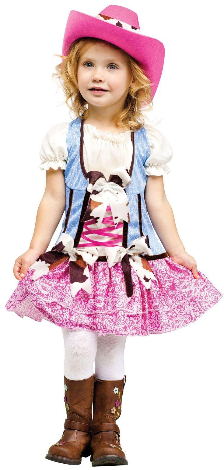 amazoncom girls rodeo halloween costume toddlers rodeo sweetie costume large 3t 4t - 4t Halloween Costumes Girls