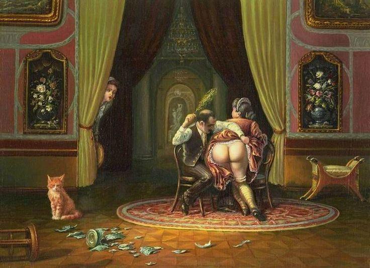 секс в стиле русских князей графов трусиками она