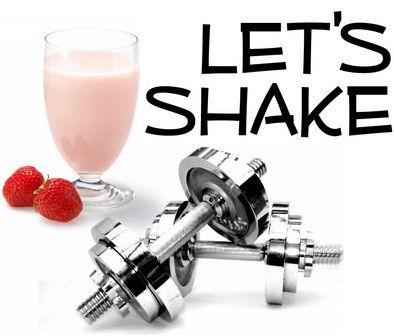 Протеиновые коктейли в домашних условиях. Shake it.