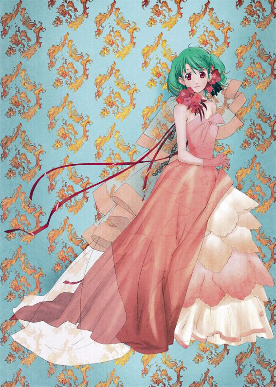 Tags: Anime, Macross Frontier, Ranka Lee, Official Art