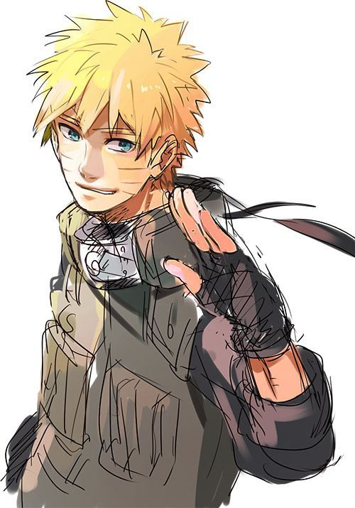 Naruto is my new anime crush!!!!! Don't judge me or tell me to get a  I don't wanna hear