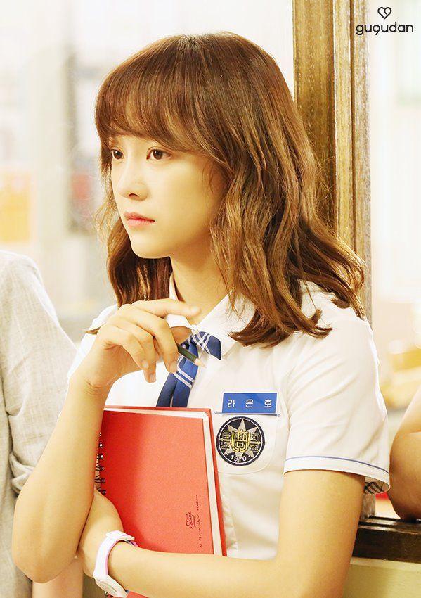 [PICS] 170714 Sejeong in 'School 2017' behind the scenes - Naver. (5)  #아이오아이 #IOI #김세정 #Sejeong